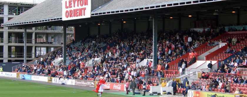 West Stand at Leyton Orient is put on the market for £8 million
