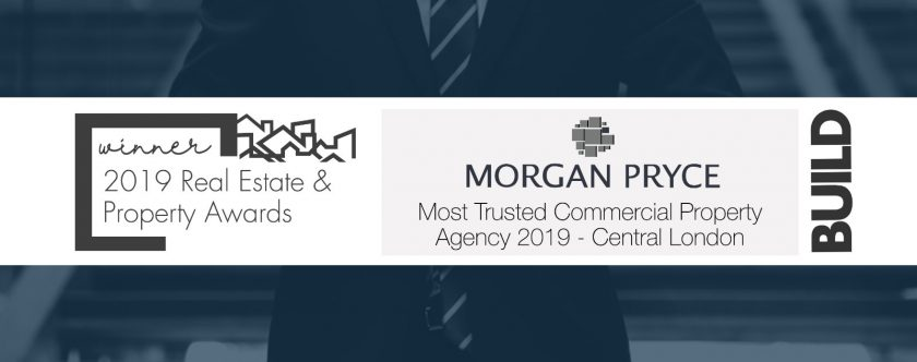 Morgan Pryce awarded as the Most Trusted Commercial Property Agency in Central London