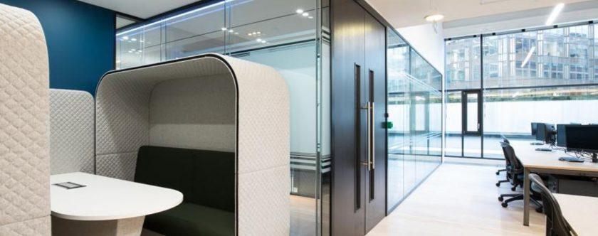 Five ways to optimise open office acoustics