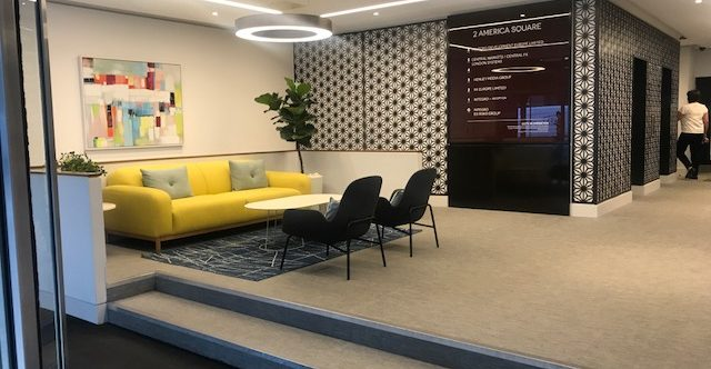 Amazing new space available in America Square