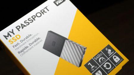 外付けSSD「My Passport SSD」をレビュー!
