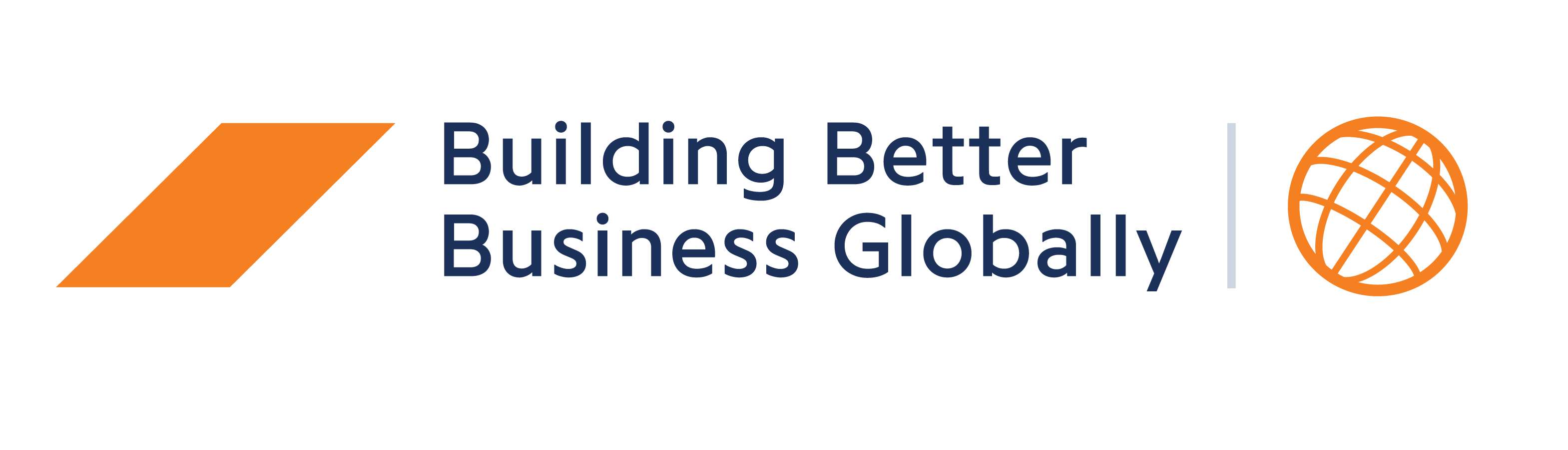 Building Better Business Globally logo