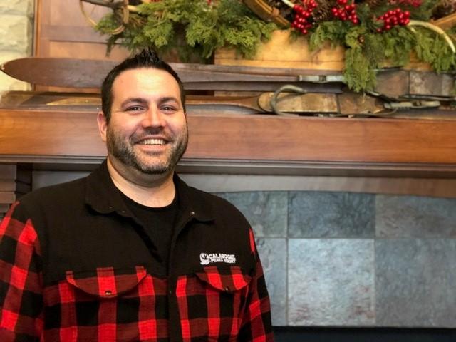 Photo of Mark Jones, Executive Chef at Canthooks Restaurant at Calabogie Peaks Ski Resort