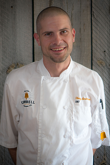 Photo of Tony Anderson, Chef at Cowbell Kitchen