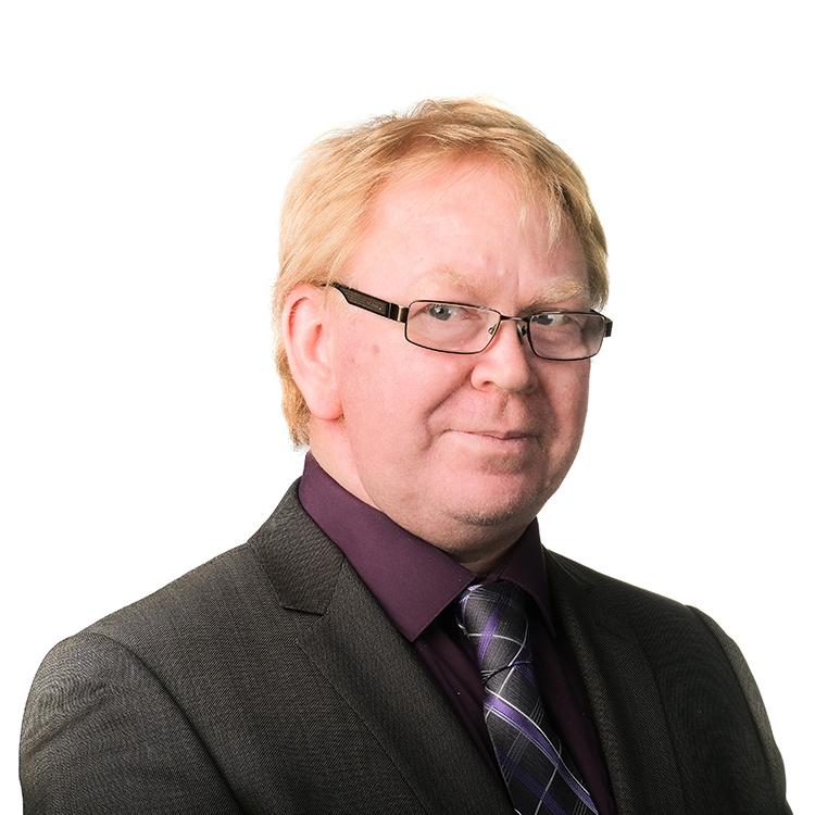 Greg O'Brien portrait