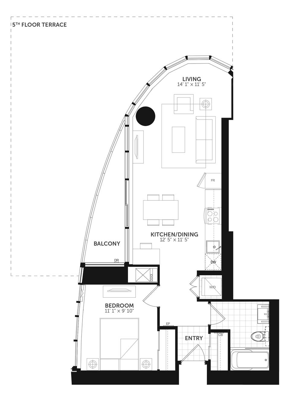 Claridge Icon New Brando Condo Floor Plans