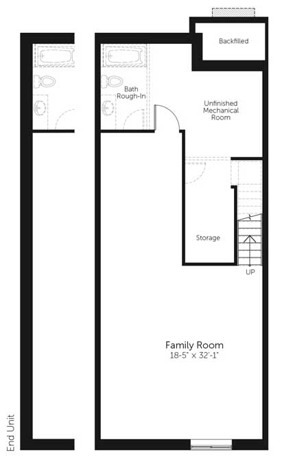Claridge Homes Yukon Basement Townhomes Floor Plans