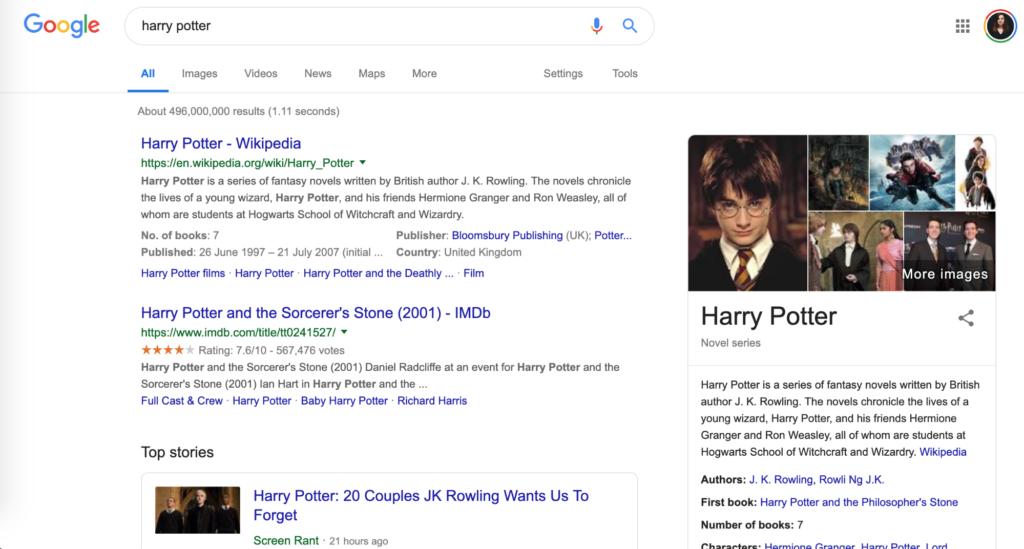 user search intent prediction ai google example
