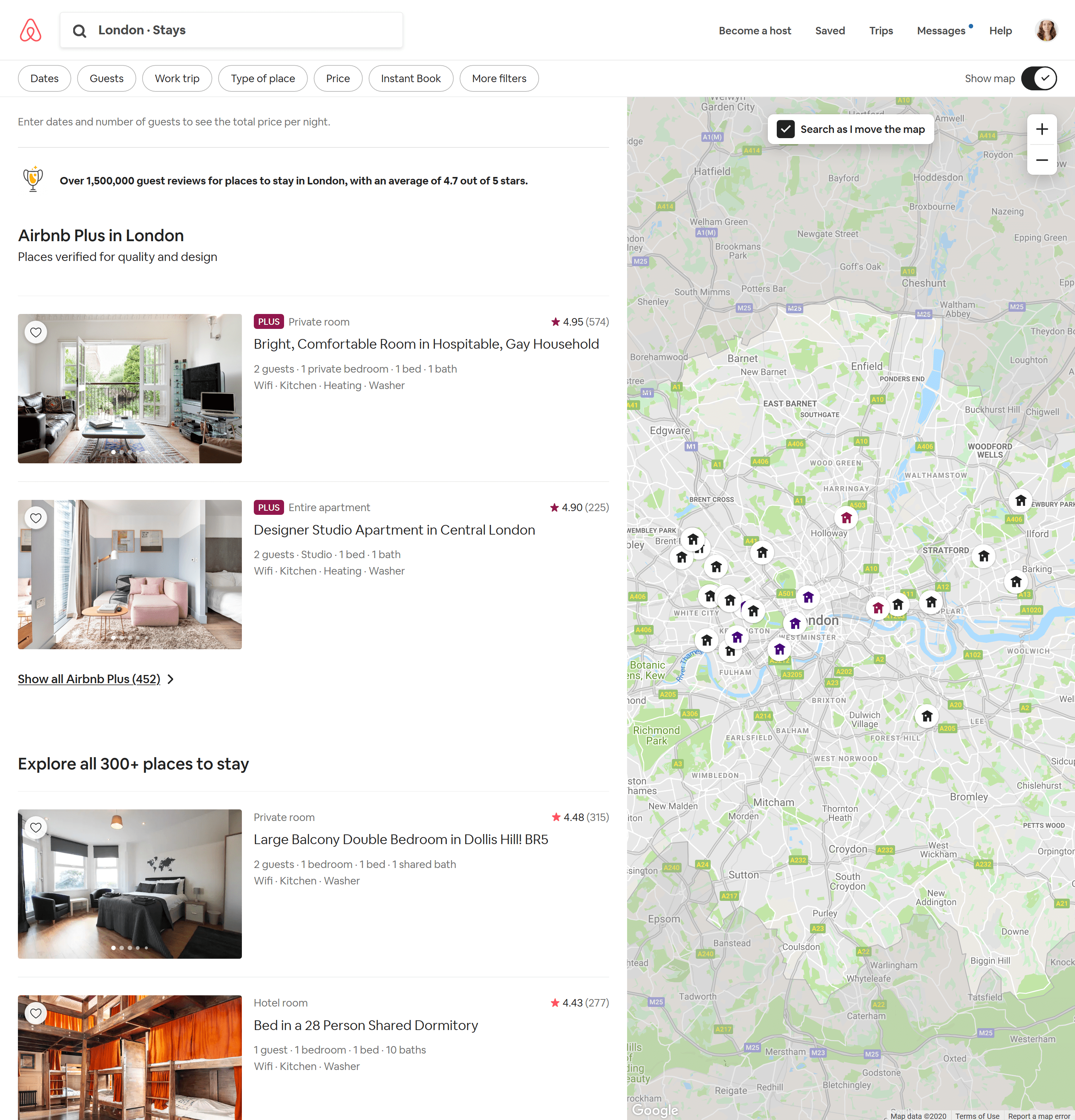 airbnb product recommendation