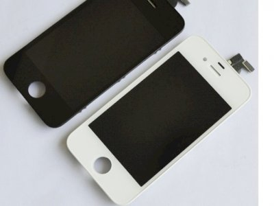 Vetro + lcd+ touch screen iphone 4, 4g, 4s
