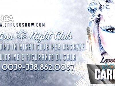 Ragazze da assumere come figurante hostess in night club