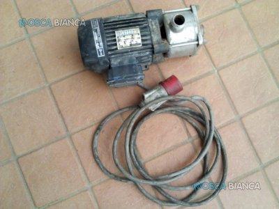 ELETTROPOMPA ASSIALE TRIFASE 220-380 VOLT MENCARELLI MOTORE ELETTRICO LAFERT