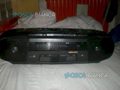 Vendo lettore per cassette _radio