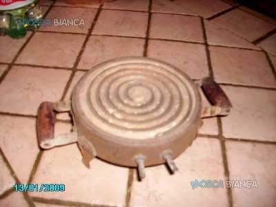 Fornello con piastra elettrico