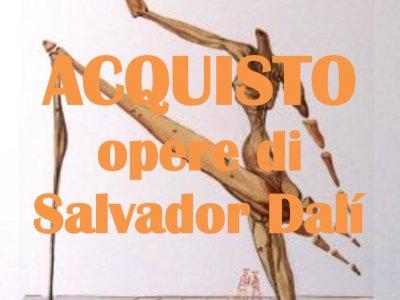 Salvador Dalì: stampe, litografie ed altro