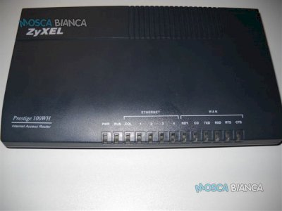 ROUTER MODEM HUB ISDN ZYXEL PRESTIGE 100WH