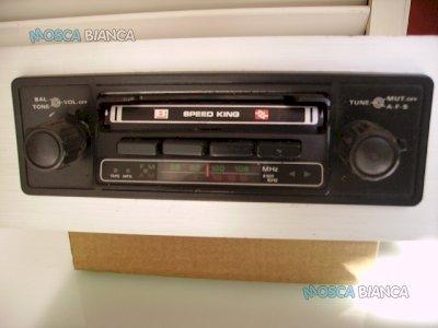 Vintage Autoradio mangianastri  Speed