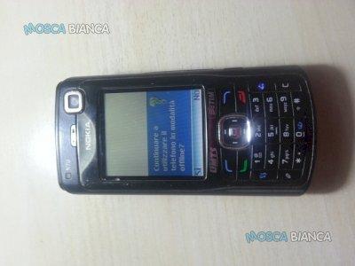 Cellulare Nokia N-70  con antenna GPS