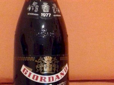 bottiglia di vino da collezione