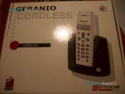 CORDLESS NUOVO GERANIO TELECOM