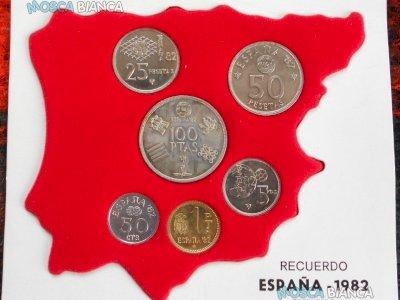 Pesetas mondiali Spagna 1982