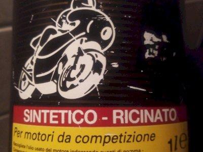 SHELL RACING OLIO SUPER SINTETICO RICINATO