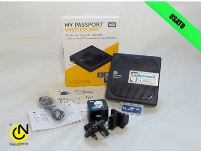 HDD Wireless My Passport Wireless Pro 4tb WD