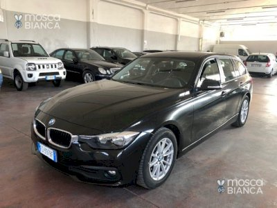 BMW 318 d Touring Business Advantage aut. - Navy -