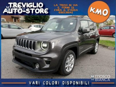 JEEP Renegade MY20 1.6 Mjt DDCT 120CV Limited PACK LED+NAVY 8,4'