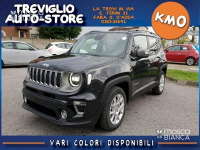 JEEP Renegade MY19 1.3 GSE 150CV DDCT Limited PACK LED +NAVY 8,4