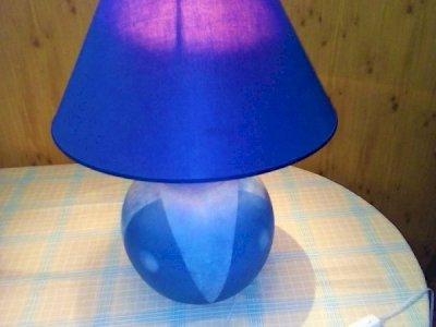 LAMPADA Blu DA TAVOLA - ABAT- JOUR