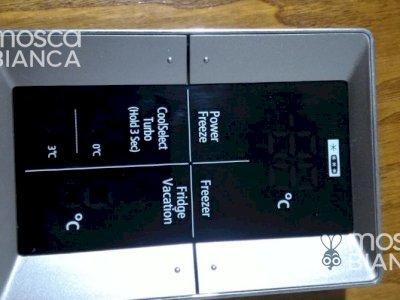 Displey porta frigo Samsung