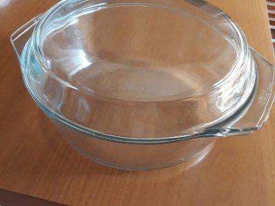 2 casseruole da forno in PYREX trasparente