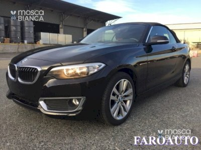 BMW 218 218 D Cabrio Luxury