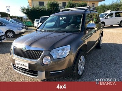 SKODA Yeti 2.0 TDI CR 110CV 4x4 Outdoor