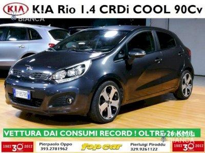 KIA Rio 1.4 CRDi Cool CONSUMI RECORD!