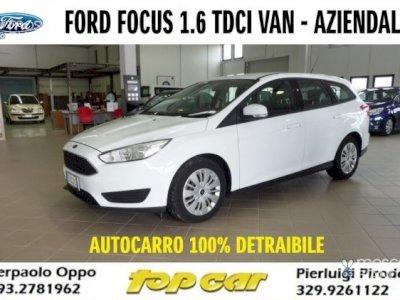 FORD Focus 1.6 TDCi AUTOCARRO 100% DETRAIBILE