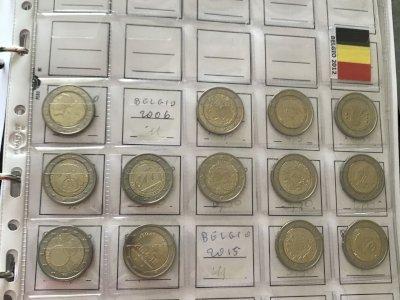 122 monete 2 euro commemorativi