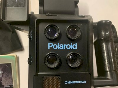 Polaroid miniportrait modello 403