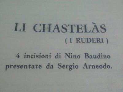 L'ARTE DI NINO BAUDINO