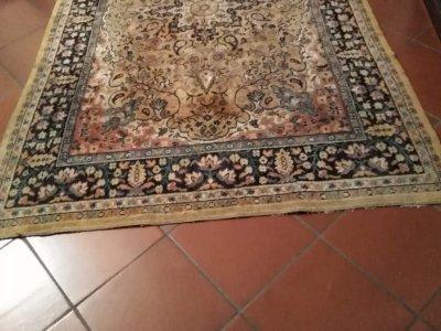 TAPPETO ANTICO 230X160 COLORE GIALLO