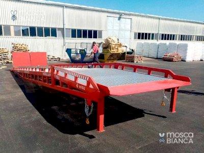 Le rampe di carico mobile per magazzino AUSBAU