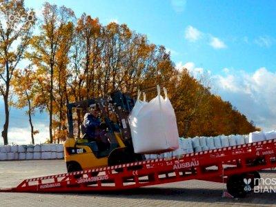 La rampa di carico mobile AUSBAU