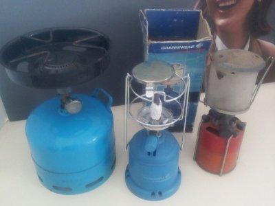 Cucina a gas campingas