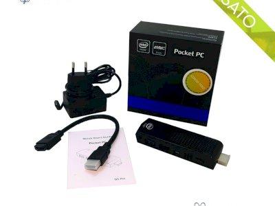 Pocket PC ACEPC Fanless Mini PC T6 Intel Atom Z8350 64Gb - 4GB Win10
