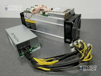 NUOVO Bitmain ANTMINER S19 PRO 110th / s BTC miner SHA-256 nuovo