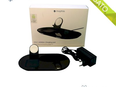 Supporto di ricarica wireless 3 in 1 di Mophie Apple iPhone Airpods Applewatch