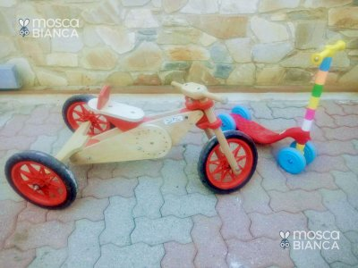Triciclo trasformer babymoto