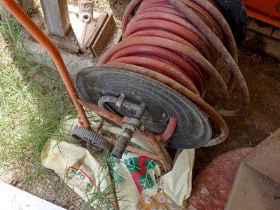 Gomma irrigazione con avvolgitore