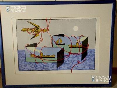 Serigrafia 'Album di Mare' di Francesco Casorati